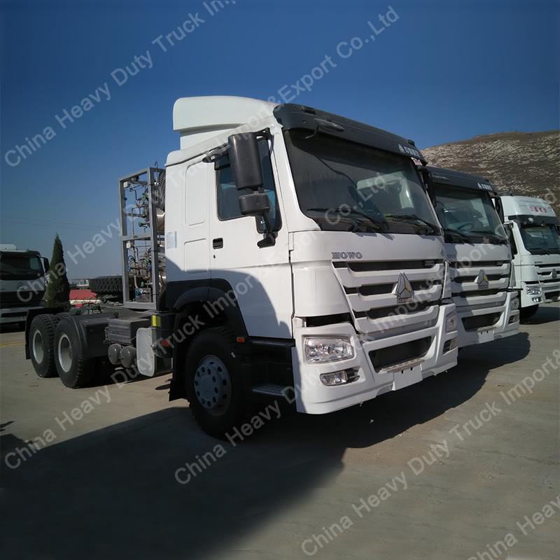 Hot Sale HOWO Tractor Truck Head Trailer Head of Sinotruk 6X4 336/371HP