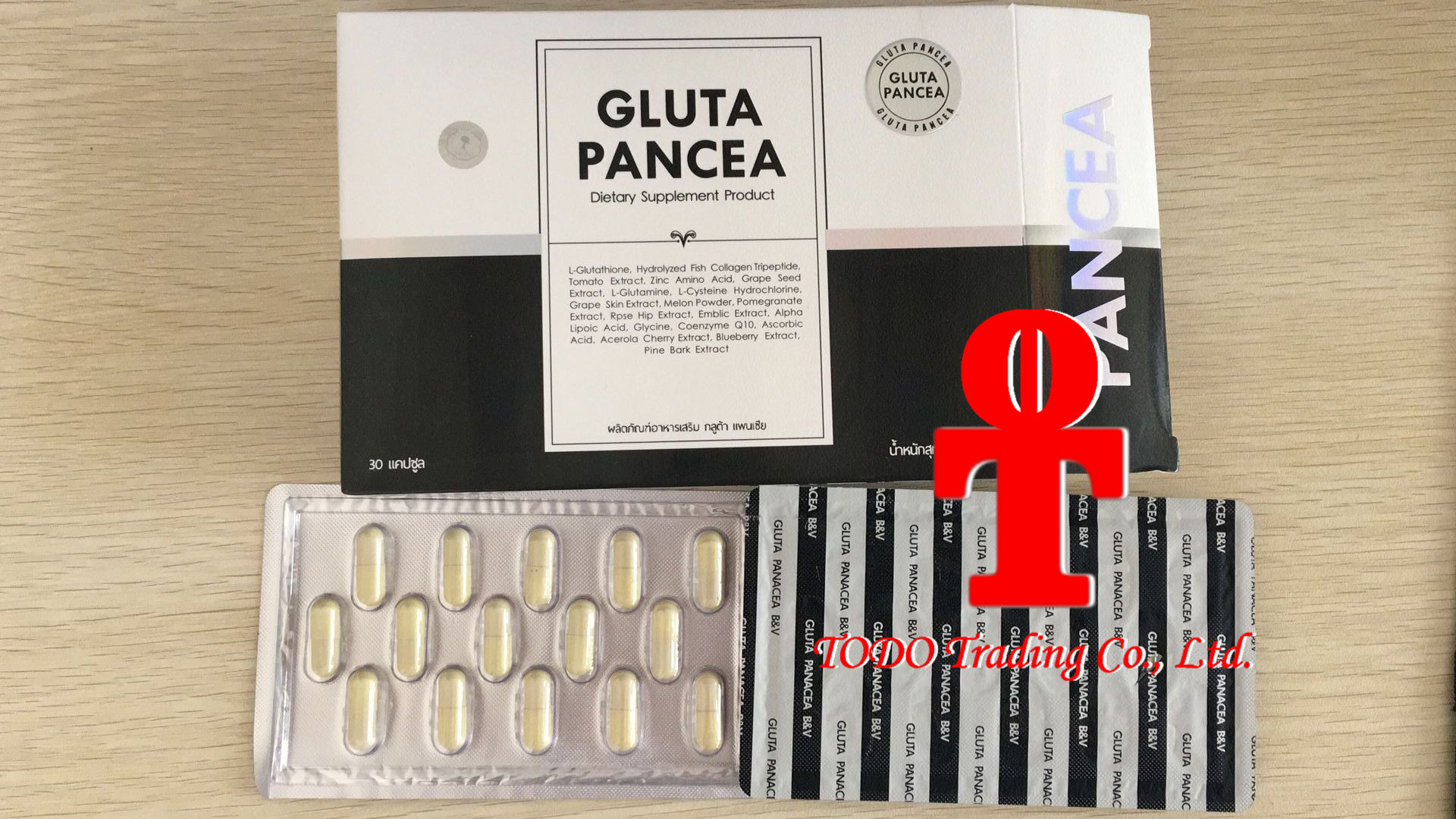 Gluta Panacea Vitamin Super White Aura Healthy Natural