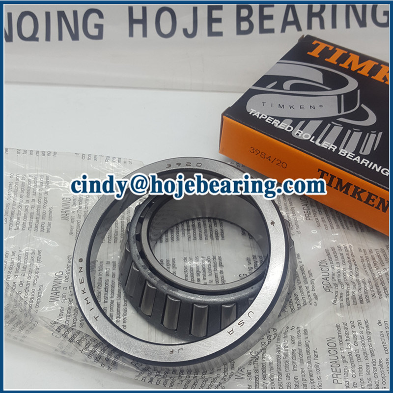 3984/3920 Taper Roller Bearing Cup and Cone for Automotive Wheels