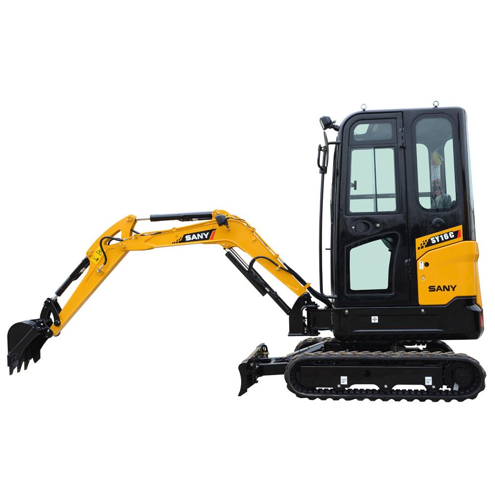 Sany Sy16 1.6 Tons Mini Garden Excavator Price