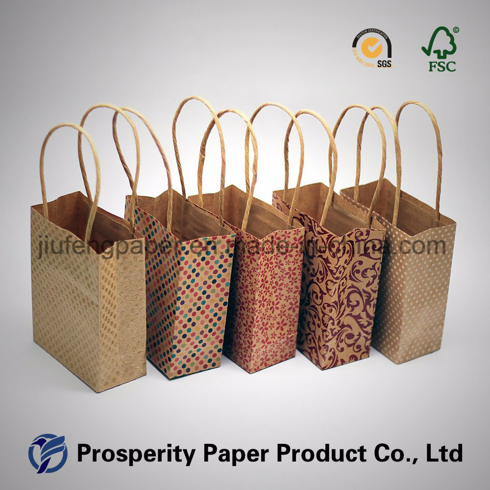 Hot Sale Printed Craft Paper Bag
