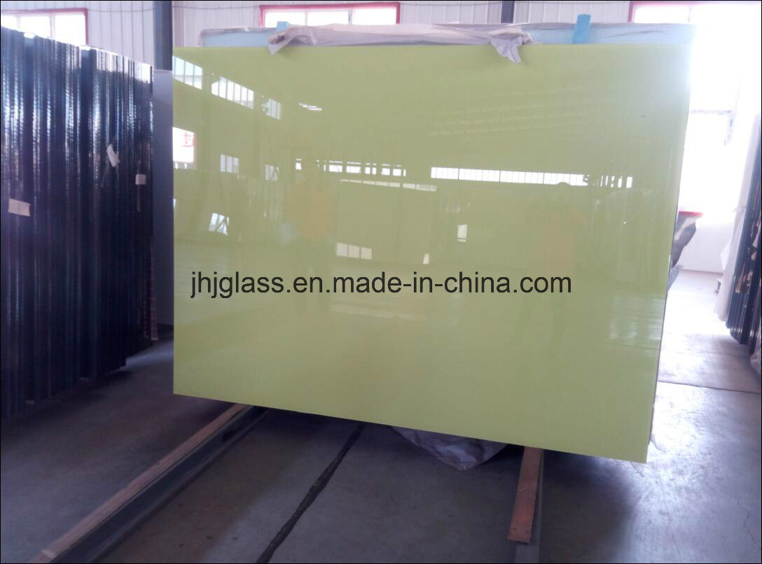 Shahe Factory 3mm to 6mm Color Back Coating Float Glass