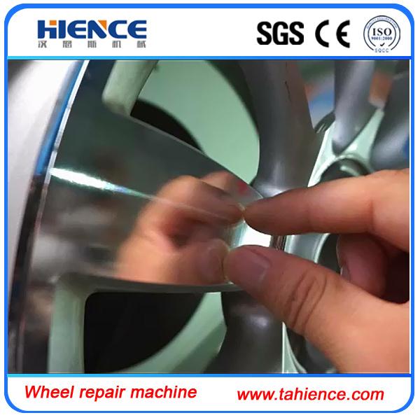 Mag Wheel Rim Repair Machine CNC Wheel Lathe Awr28h