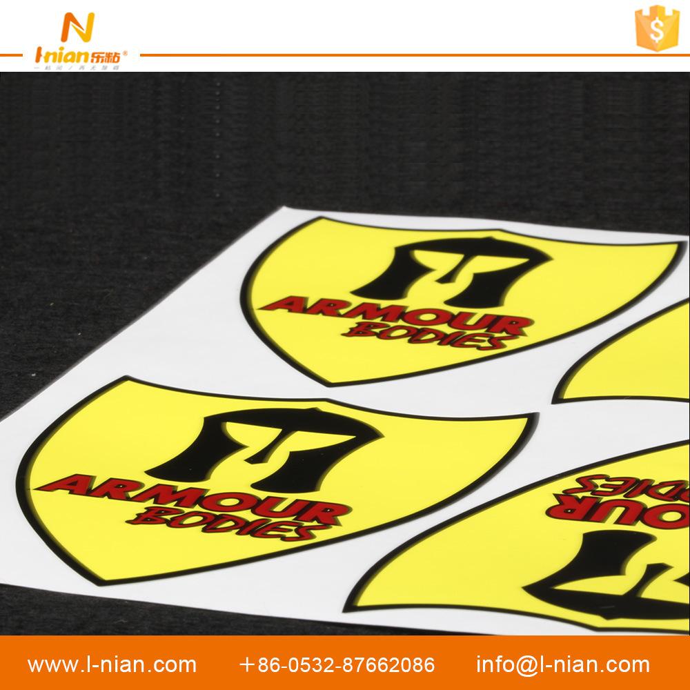 Custom Printing UV Resistant PVC Vinyl Car Sticker