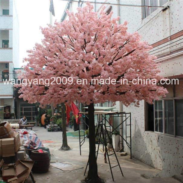 Popular Pink Artificial Fake Sakura Tree Centerpiece