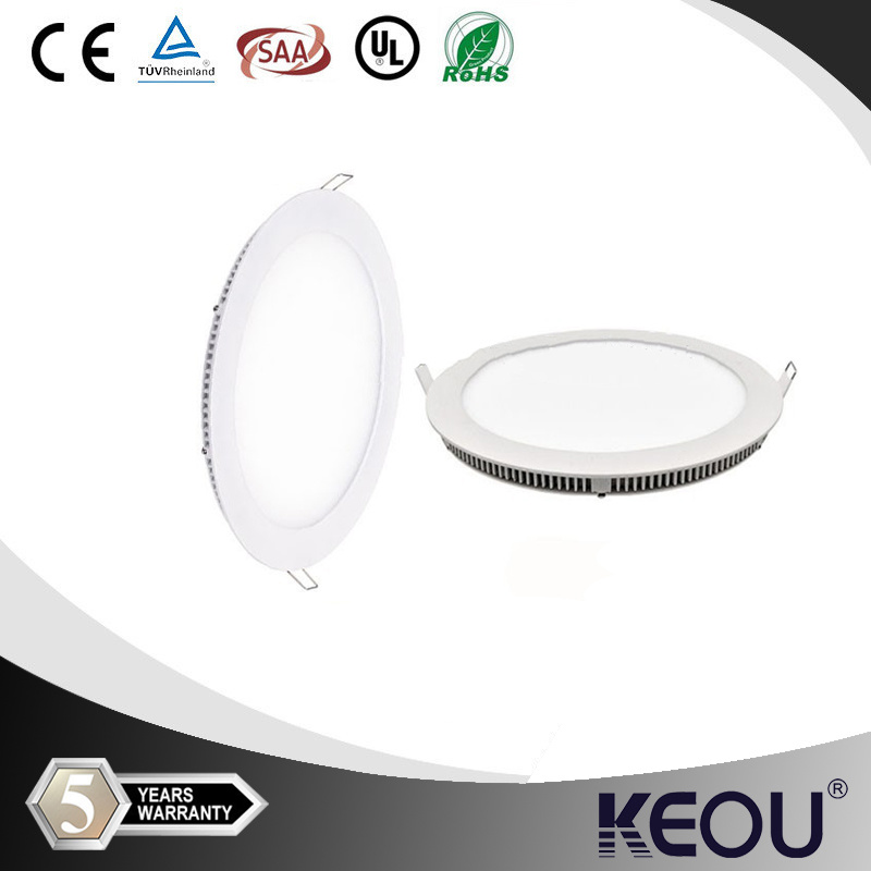 Circular Dimmable LED Recessed 18W/18watt Panel Light