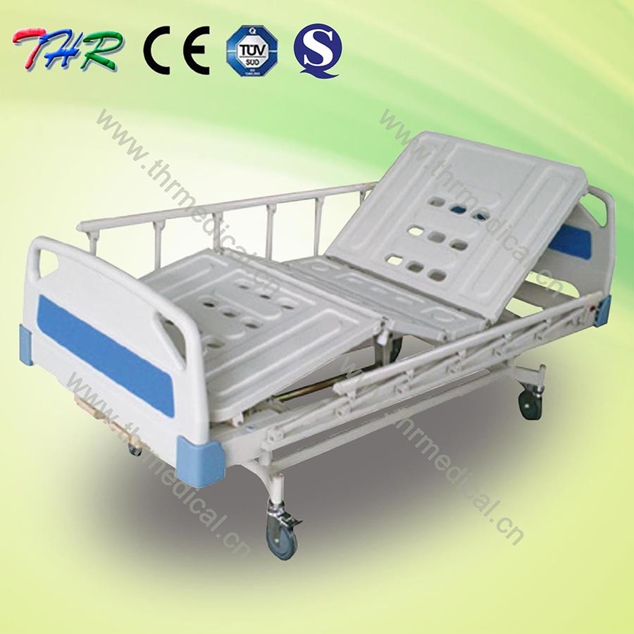 2-Crank Manual Hospital Bed (THR-MBFY)