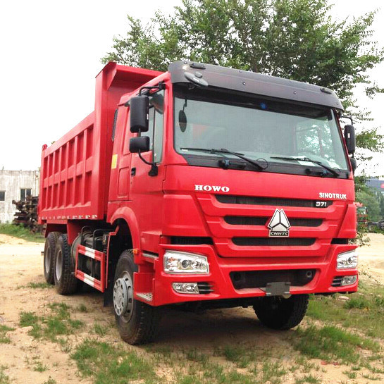 Low Price HOWO 336HP 10 Wheels Tipper Truck