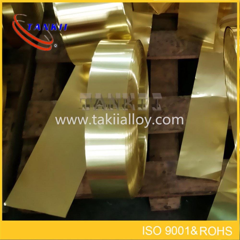 Copper nickel alloy foil CuNi23 (NC030)