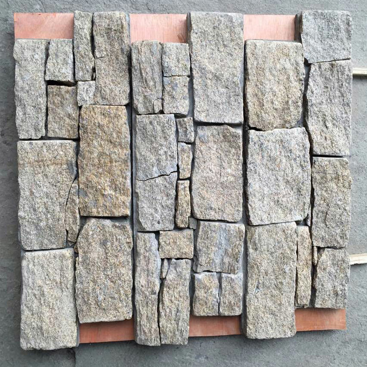 Natural Exterior Wall Cement Stacked Stone Panels (SMC-CC162)