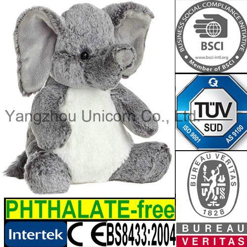 EN71 Elephant Plush Toy Microwave Heated Wheat Bag