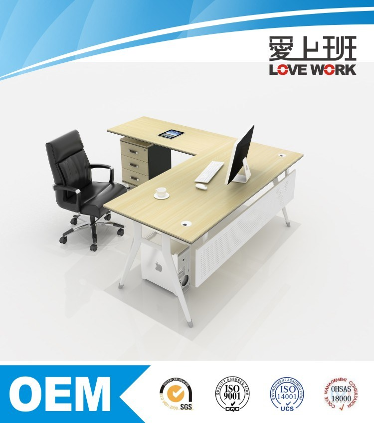 Modern Melamine Office Comeical Executive Desk