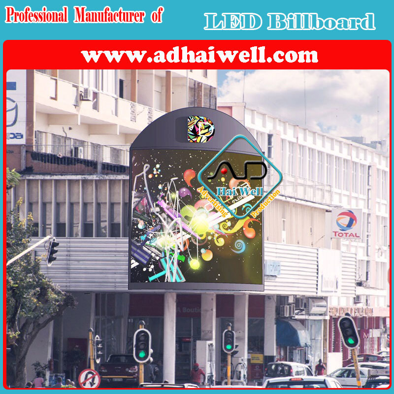 Outdoor Wall Mounted LED Electric Sign Board LED Displays Digital Billboards Media Facade
