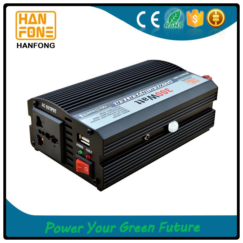 Home Solar System China Manufacturer Power Inverter 300W Car Converter