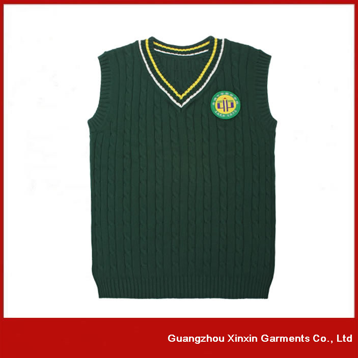 Customized Cheap School Sweater Boys Grils Student Sweater for School Wear (U09)