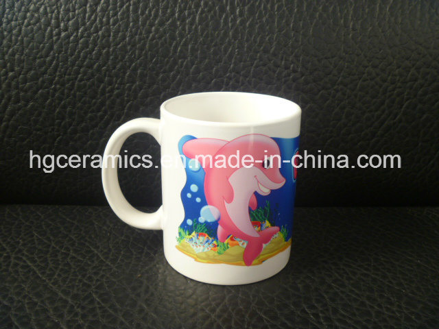Sublimation Coated Ceramic Mug, Sublimation White Mug