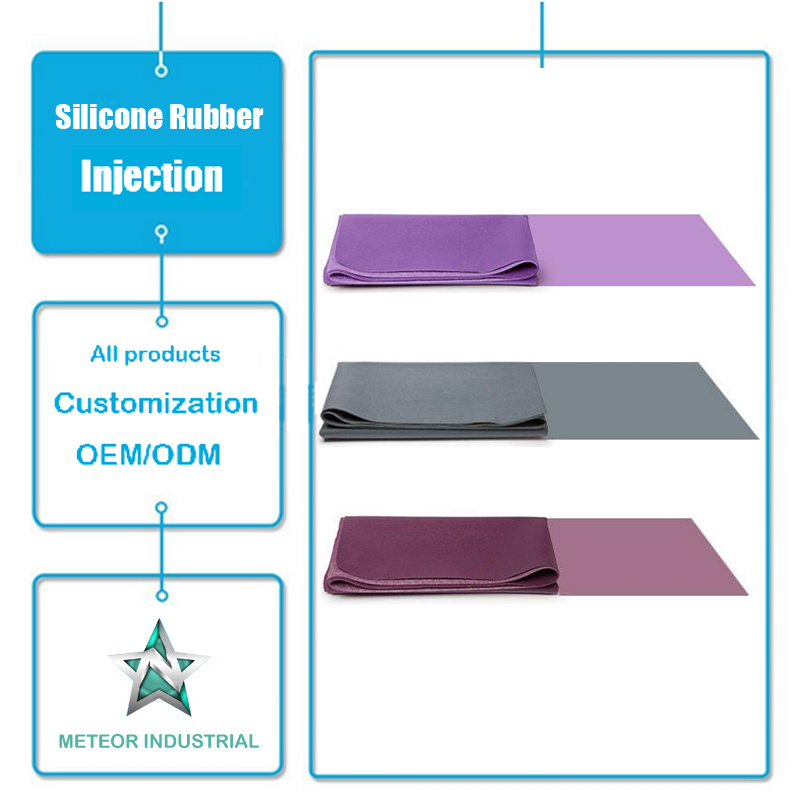Customized Silicone Rubber Products Fitness Mat Silicone Pad Injection Mold