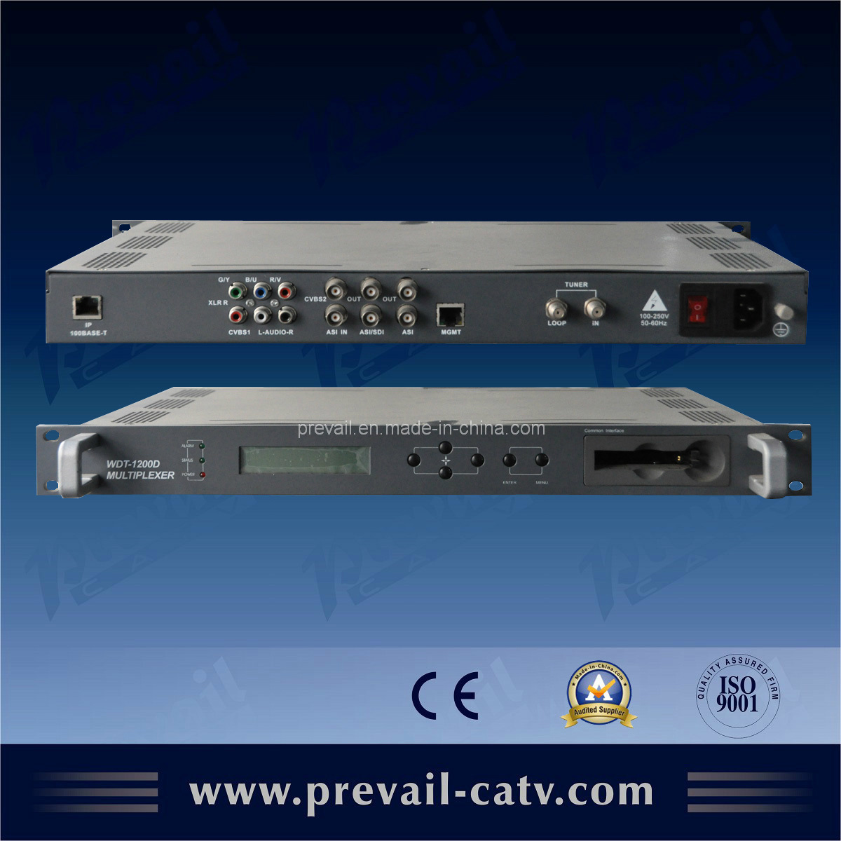 Professional Encryption Type Ts Satellite IRD (WDT-1200D)