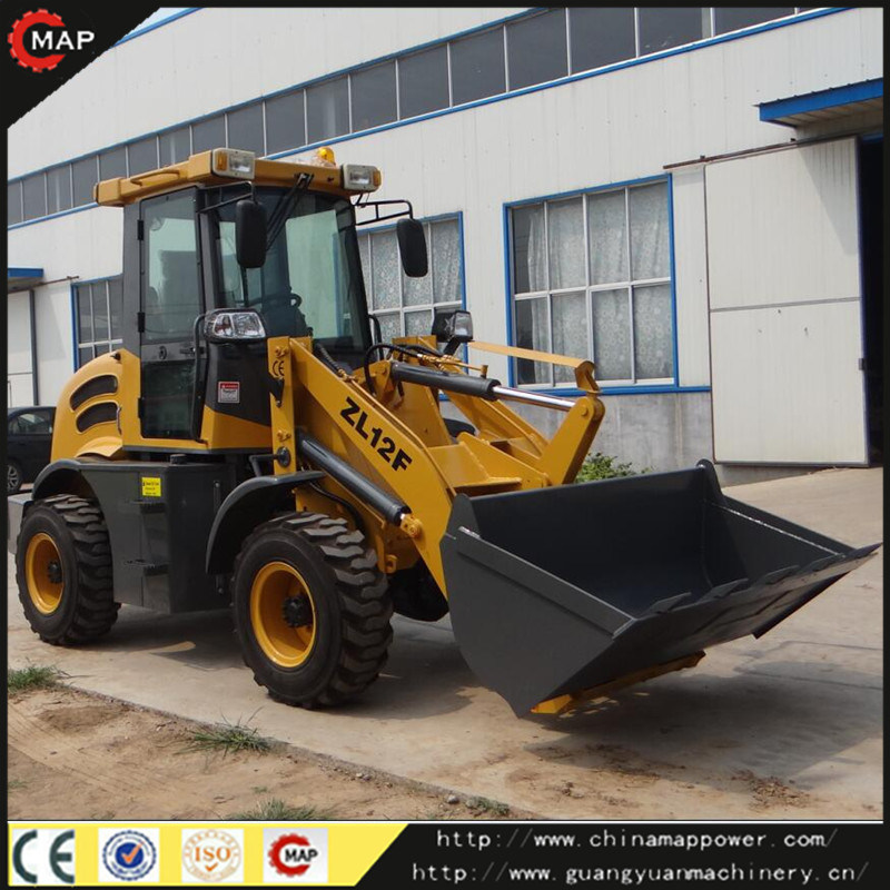 Front Wheel Loader, Construction Wheel Loader (ZL12F)