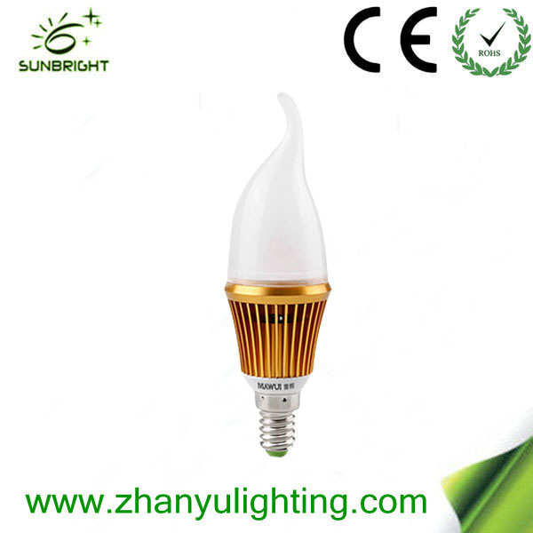 E14 E27 LED Candle Lighting 3W LED Bulb