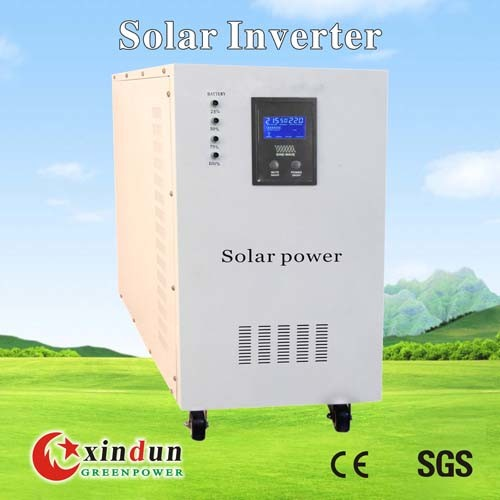 1200W Solar Inverter with Built-in Charger and Batteries (SS1200-24)