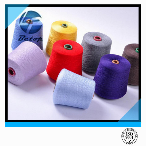 100% Polyester Yarn Color Raw/ White Plastic Dye Tube