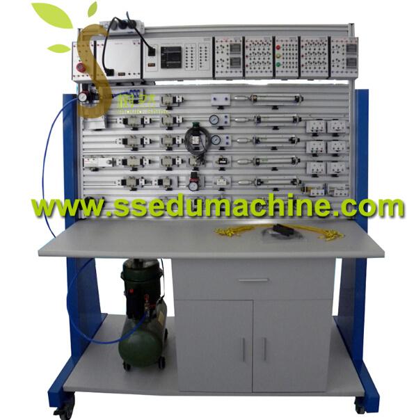 Electro Pneumatic Training Workbench Mechatronics Trainer