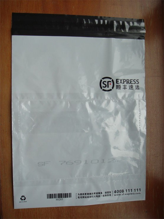 Disposable Custom Printed Courier PE Plastic Bags for Transportation (FLC-8604)