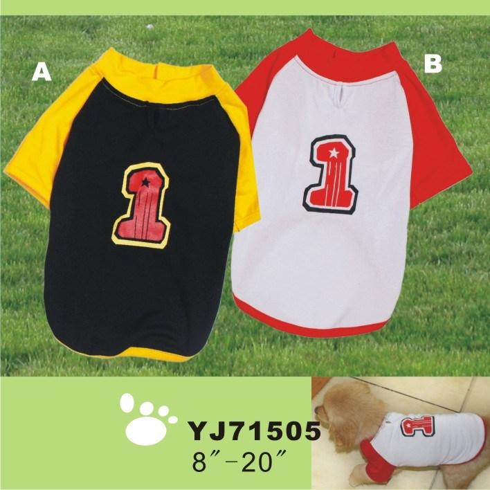 Dog Sport T-Shirts, Pet Clothing Dog Clothes (YJ71505)