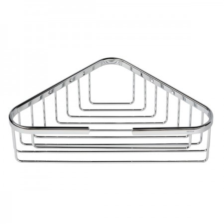 Triangle Brass Bathroom Basket