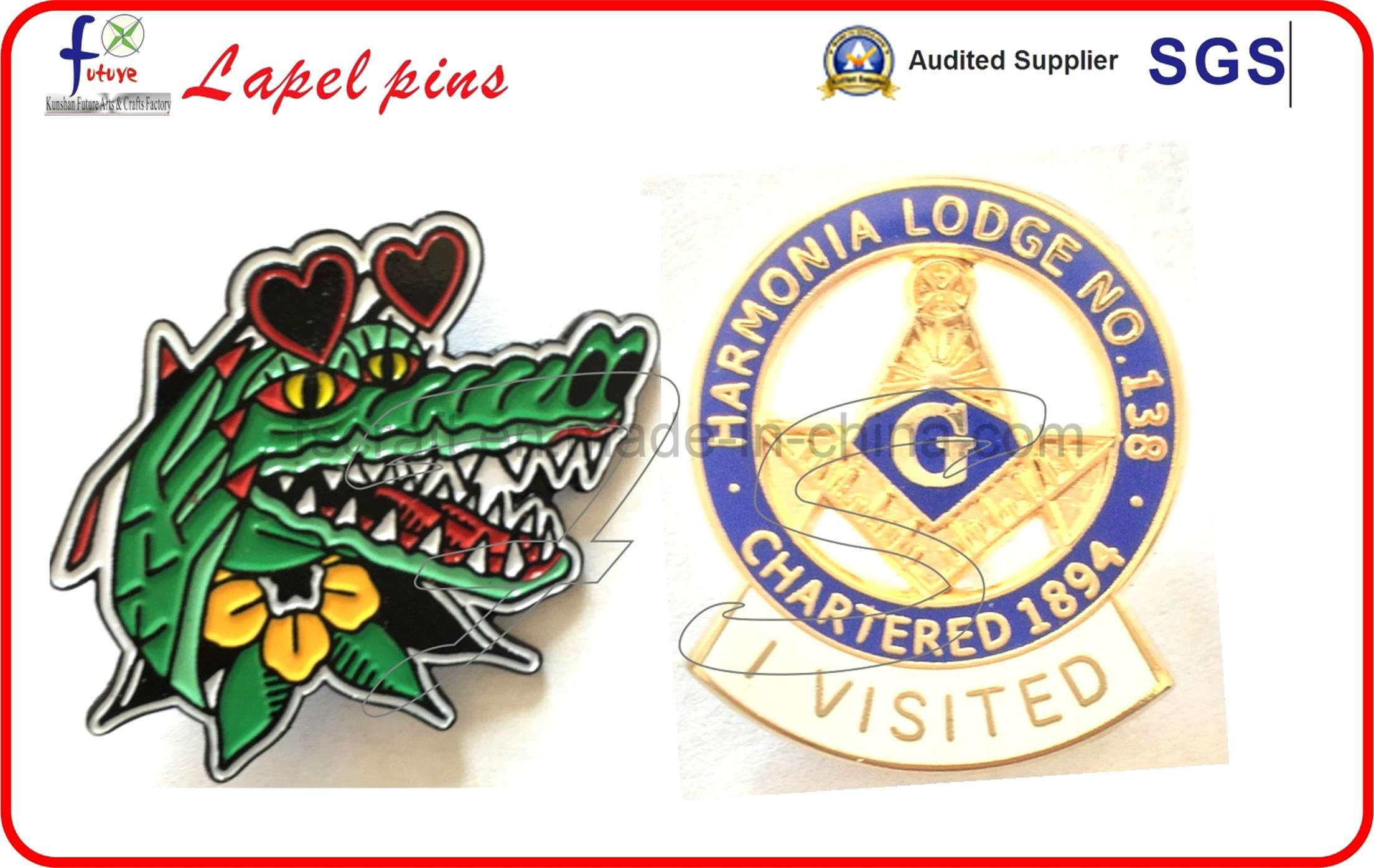 2016 New Custom Lapel Pins Badges Metal Logo