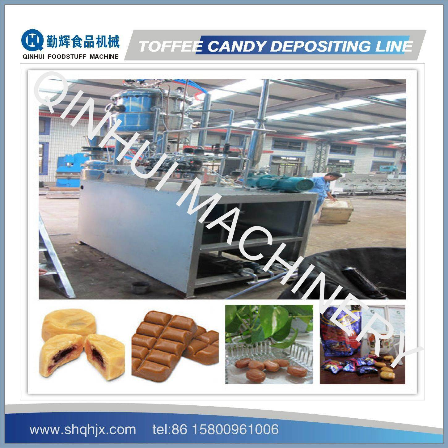 PLC Control&Full Automatic Toffee Candy Machine