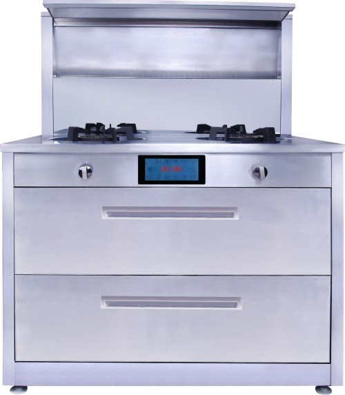 Range Hoods For Gas Stoves ~ China gas cooker with range hoods and disifecting cabinet