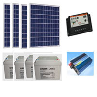 200W Solar System Perfect for Home, Boats