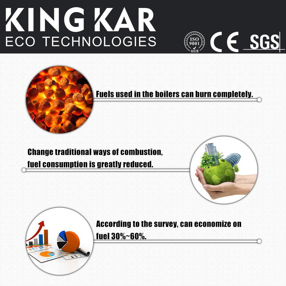 2017 New Hho Gas Generator in Steam Boiler (Kingkar5000)