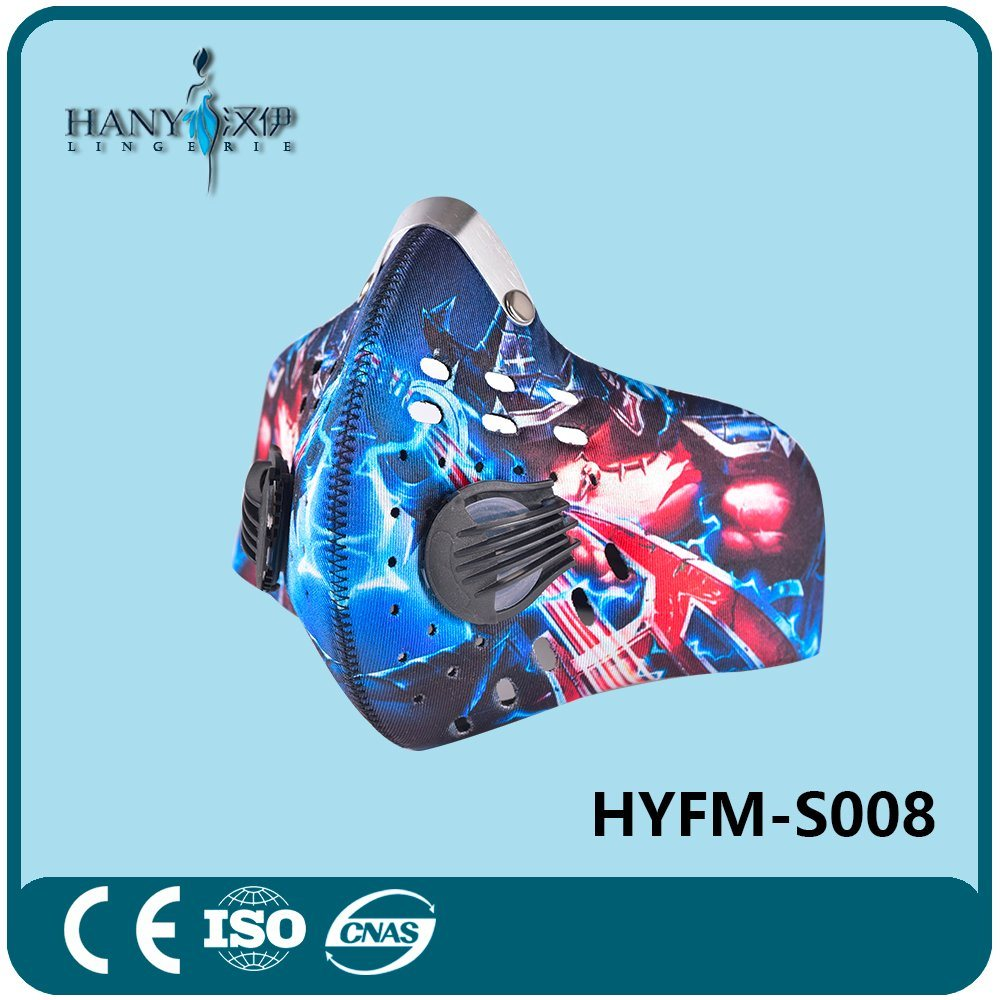 Sports Mask for Bicycle and Motorcycle with Activated Carbon Filter