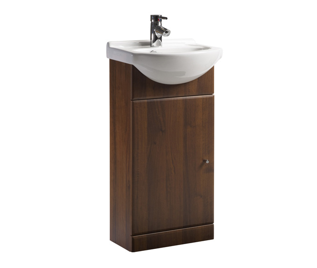 China Small Unit Bathroom Vanity H4352 China Bathroom