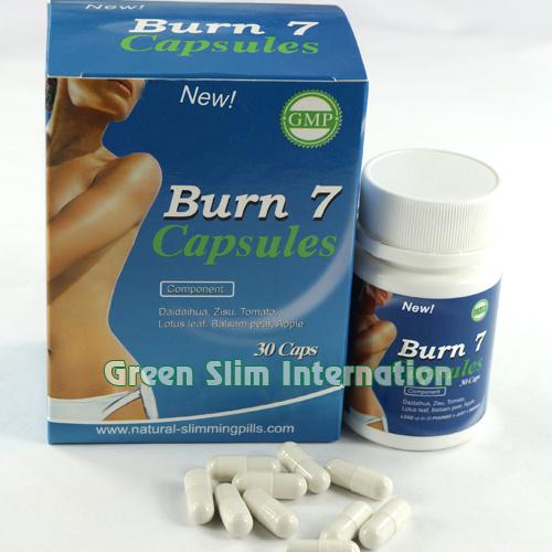 Burn 7 Slimming Capsule, Herbal Diet Pills Weight Loss