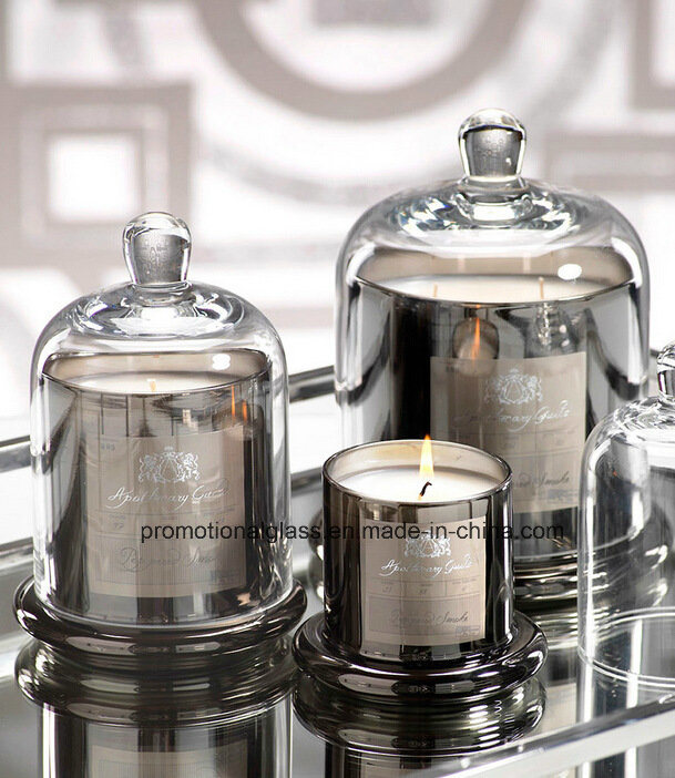 China New Hot Design Electroplate Glass Bell Jars, Bell Candle ...