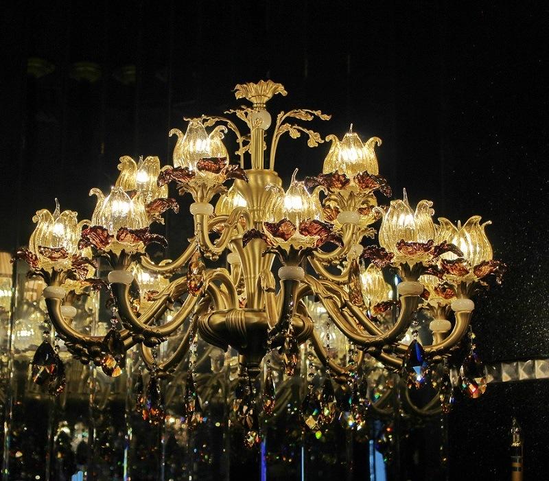 Phine pH-0818u~6~8~15 Arms Modern Swarovski Crystal Decoration Pendant Lighting Fixture Lamp Chandelier Light