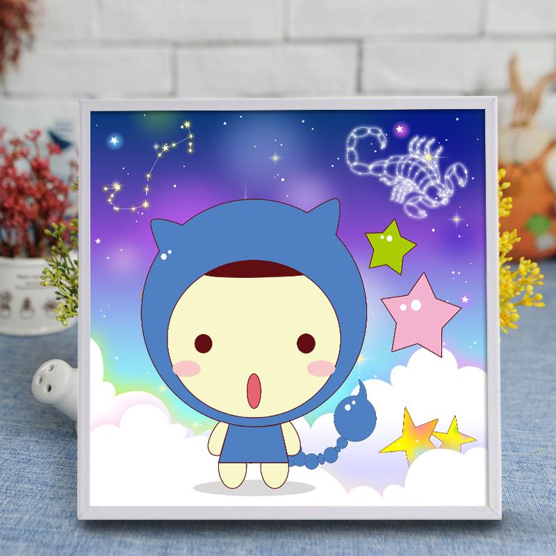 Factory Direct Wholesale New Children DIY Handcraft Sticker Promotion Kids Girl Boy Gift T-046
