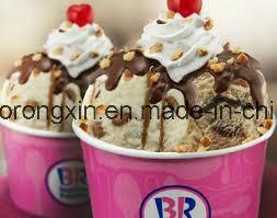 One Side PE Coated Baskin Robbins Icecream Cup paper