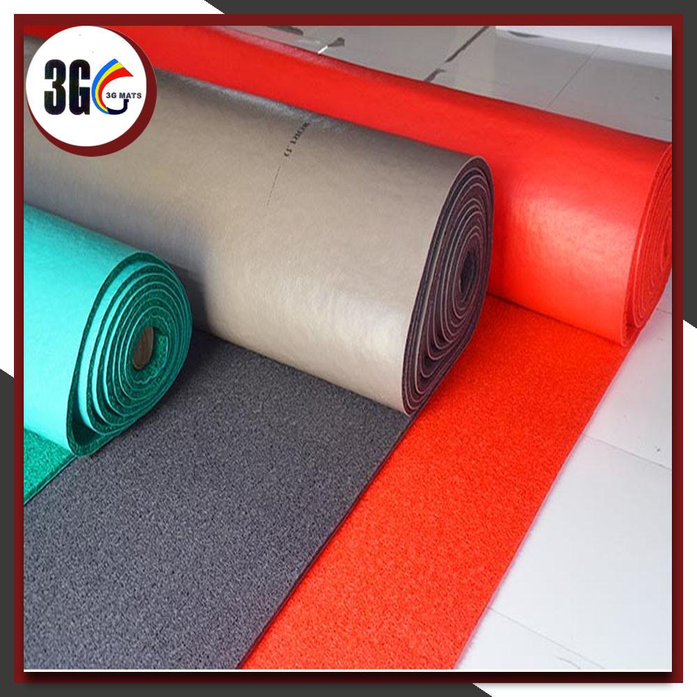 3G Good Price and Hot Sales PVC Cushion Mat, PVC Coil Mat, PVC Mat