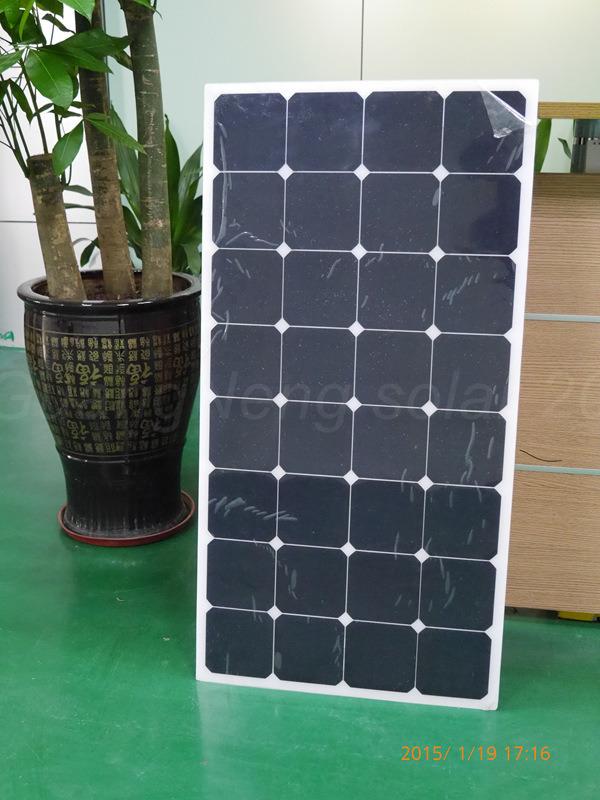 2015 New Product, 100W Semi Flexible Sunpower Solar Panel (JGN-100W-SPF)