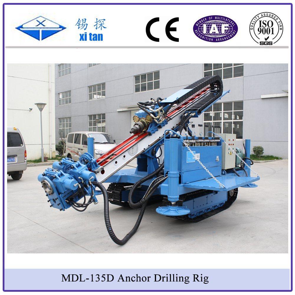Xitan Mdl-135D Foundation Anchor Drilling Rig Rock Drilling Machine Blast Hole Drilling Rig