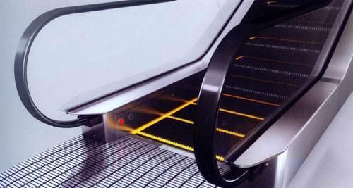 Supermarket Escalator 1000mm Width Step