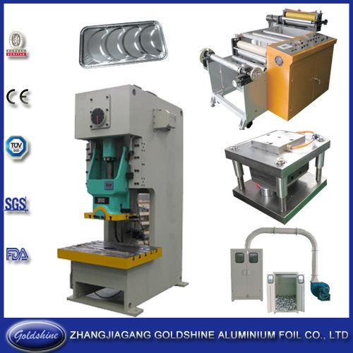High-Quality Aluminum Foil Container Production Line