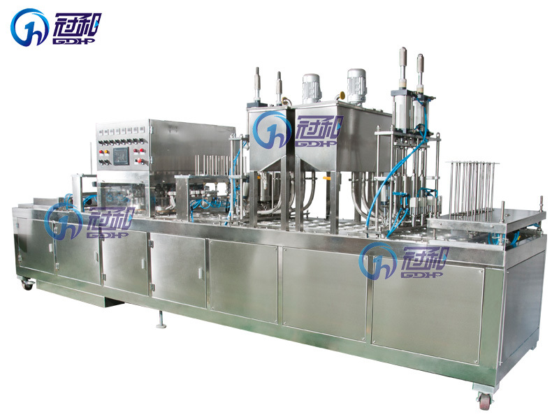 Automatic Liquid Filling Sealing Machine for Cup Liquid or Paste