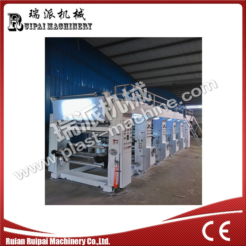 6 Color Gravure Printing Machinery