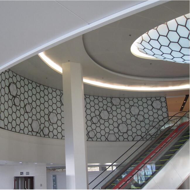 Customized Size Fashion Design Metal Ceiling for Building Decoration